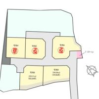 【売地】長崎県大村市上諏訪町第二分譲地5区画★西大村小学校、西大村中学校区域★のサムネイル